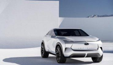 2020世界新車大展 INFINITI品牌創立30週年 純電概念休旅QX Inspiration前瞻首演