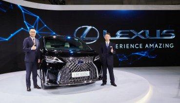 LEXUS全新旗艦 LM車系 四人座/七人座 367萬元起 尊榮上市