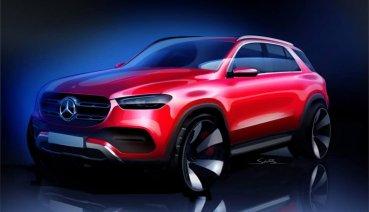 從「設計草圖」到幾近「無偽裝間諜照」!新一代大改款 Mercedes-Benz GLE 未演先轟動 十月巴黎車展將正式亮相