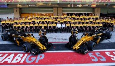 Renault將冬測目標設定為里程數前三名