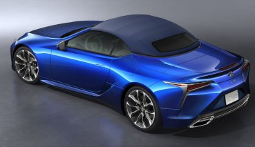 絕美日式敞篷跑車即將到來,Lexus LC500 Convertible 8/18 發表!