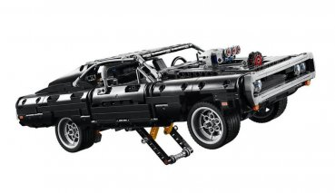 等不及玩命關頭9?LEGO推出唐老大座駕DODGE Charger寬體版