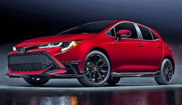 TOYOTA北美推出Corolla Hatch Special Edition視覺系的特仕版, 主打音速紅的誘人車色