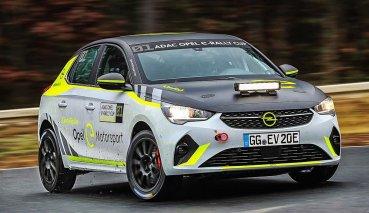 世界首部電動拉力賽車OPEL Corsa e-Rall展開測試,明年開始交貨並上賽道征戰