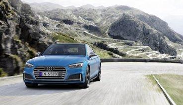 小改AUDI S5 Coupe和Sportback正式亮相,歐洲提供3.0L V6柴油引擎