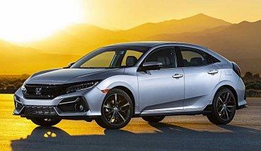 Civic北美市場仍有人氣,HONDA推出改款Civic Hatchback追加六速手排變速箱