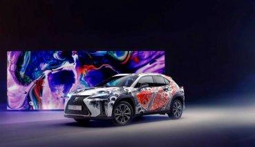 車也能刺青?英國藝術家幫LEXUS UX刺上浮世繪風格彩繪