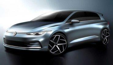 10/24 與大眾見面,Volkswagen Golf 第八代車型蓄勢待發、釋出新一批設計草圖!