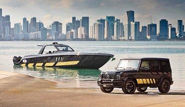 性能車與快艇結合,賓士與快艇公司合作設計Tirranna AMG Edition快艇和G63快艇特仕車
