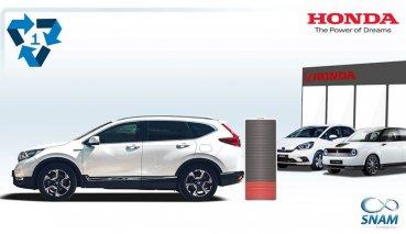強調可持續性,HONDA公開電動車與油電混合車電池回收過程