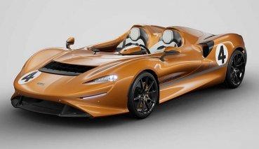 McLAREN復古敞篷跑車Elva推出MOS客制化部改裝的橙色版本