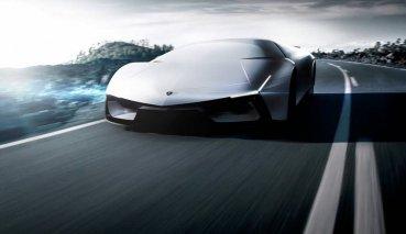 簡約未來感,新LAMBORGHINI Pura SV Concept概念車