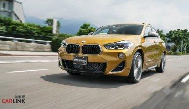 BMW最強四缸動力。X2 M35i試駕