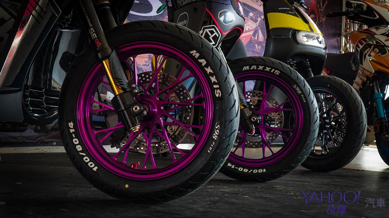 因電而生的國產雙輪胎王駕到!Maxxis S98系列輪胎正式發表! - 1