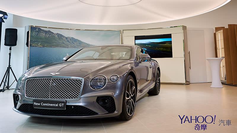 全新第3代Continental GT跨海來台加持!Bentley高雄旗艦展示中心正式開幕