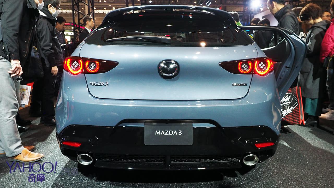 【2019東京改裝車展】4代Mazda 3正式登上日本!更多細節同步展演 - 10
