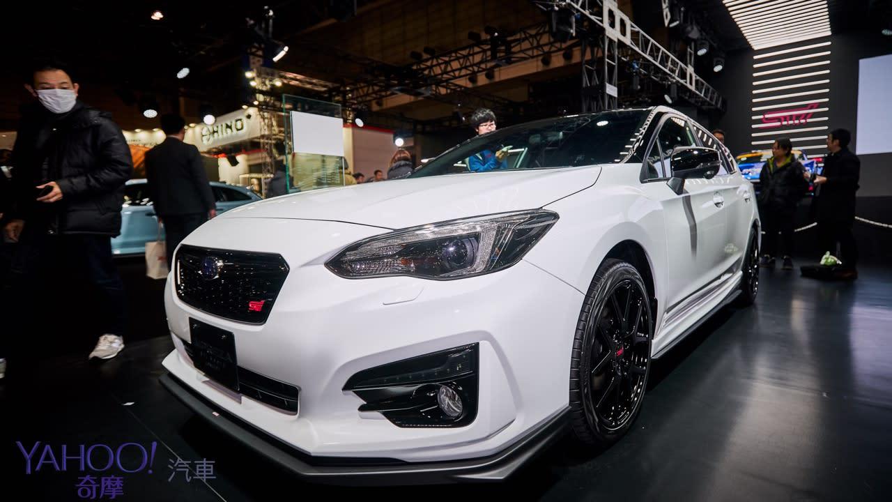 【2019東京改裝車展】昴六連星硬漢本色!Subaru全系列STi式樣熱血上陣 - 1