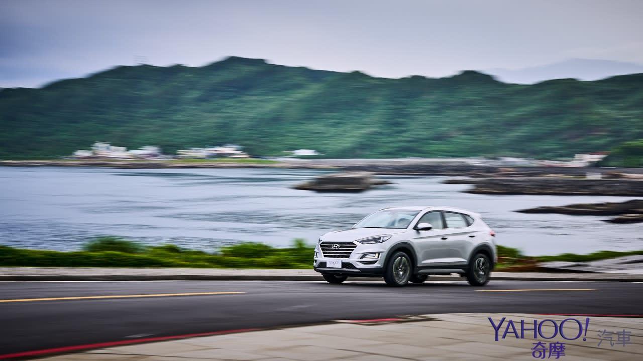 德不德系不是重點、夠安全才是王道!Hyundai小改款Tucson 1.6尊爵版基隆試駕 - 16