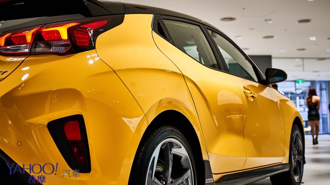 絕無僅有的不對稱鋼砲!大改款Hyundai Veloster正式上市115.9萬起! - 14