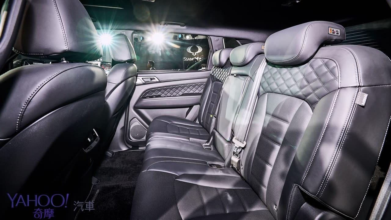 越野韓風激烈襲來!SsangYong雙龍汽車豪華7人SUV Rexton、PickUp Rexton Sports正式發表! - 9