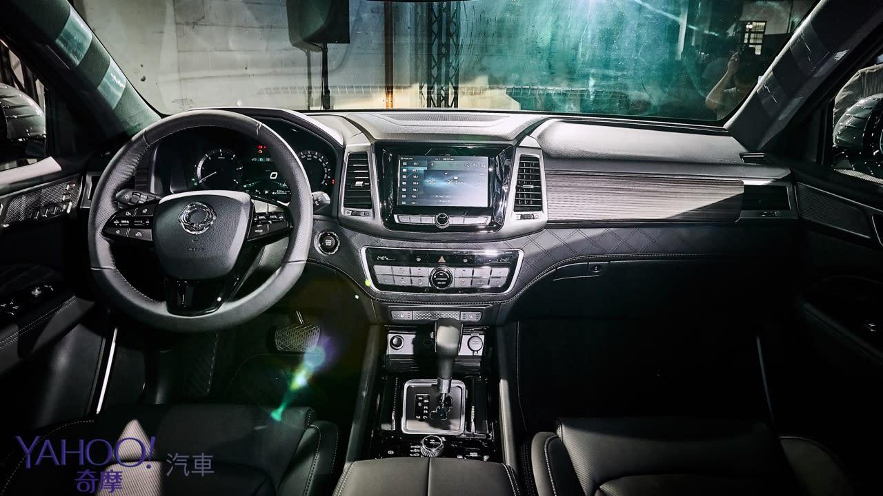 越野韓風激烈襲來!SsangYong雙龍汽車豪華7人SUV Rexton、PickUp Rexton Sports正式發表! - 13