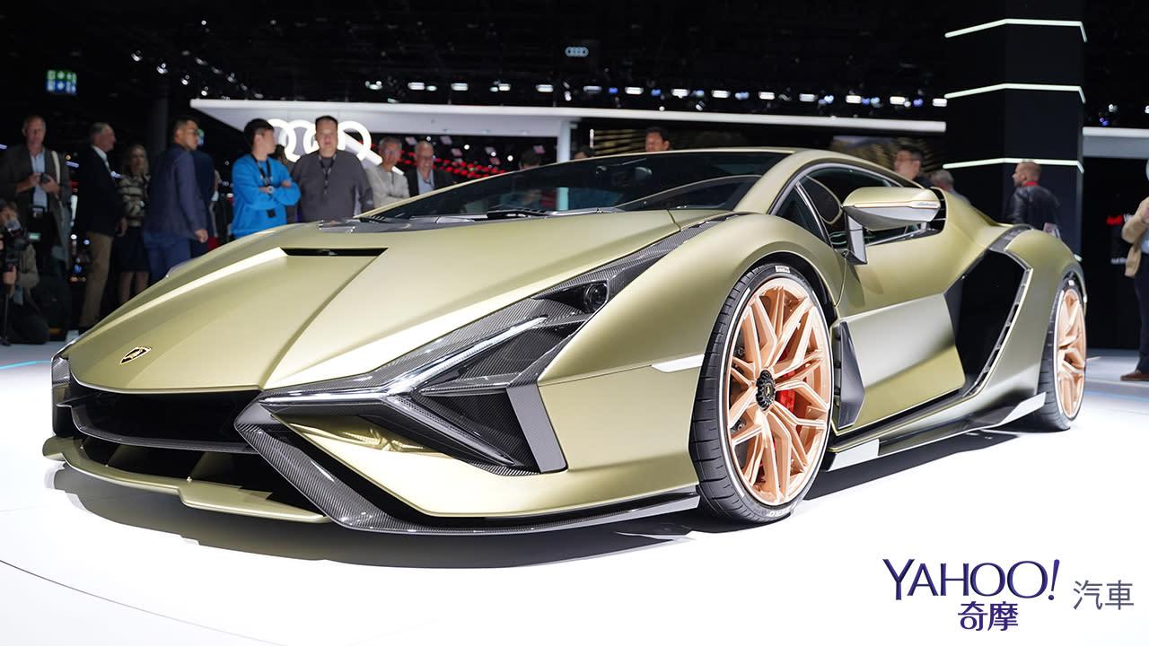 【2019法蘭克福車展】限量63部的終極一閃!Lamborghini Sián榮登油電王者之座 - 10