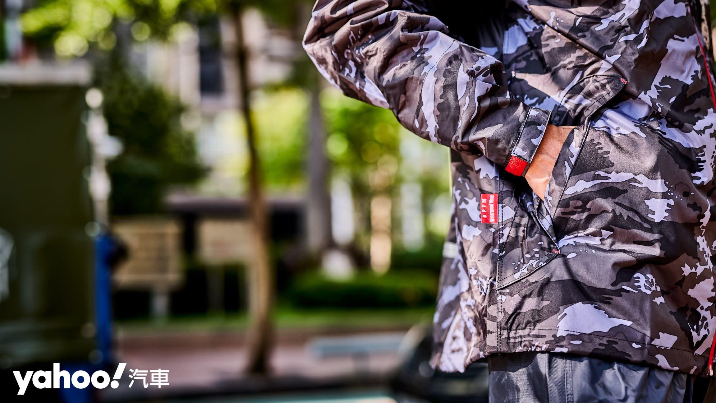 下雨天更要穿出品味!4款潮流系雨衣風格開箱! - 16