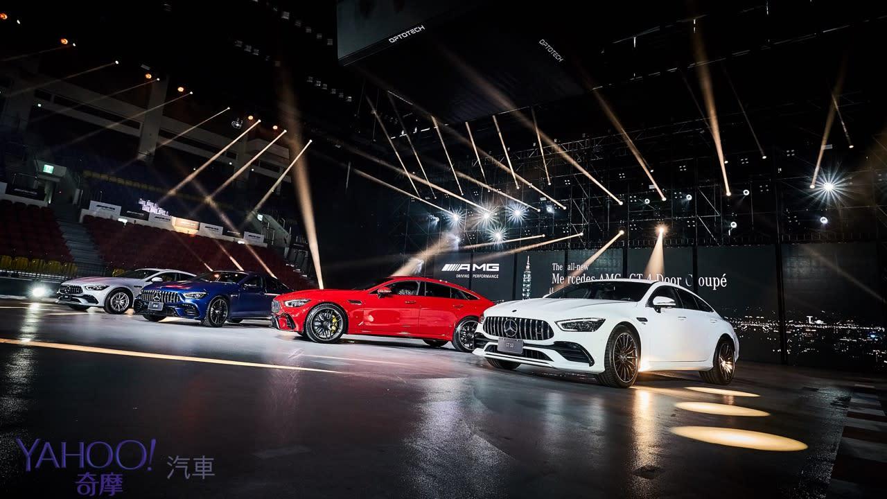 不意外的驚喜大禮!Mercedes品牌旗艦GT車型AMG GT 4-Door Coupé車系518萬元起! - 1
