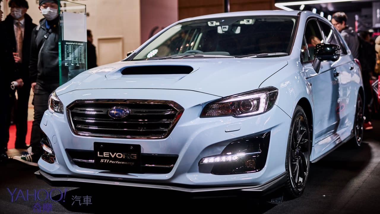 【2019東京改裝車展】昴六連星硬漢本色!Subaru全系列STi式樣熱血上陣 - 10