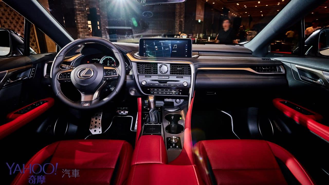 亮眼而且更加安全!Lexus小改款RX車系全速域解封發表227萬起! - 7