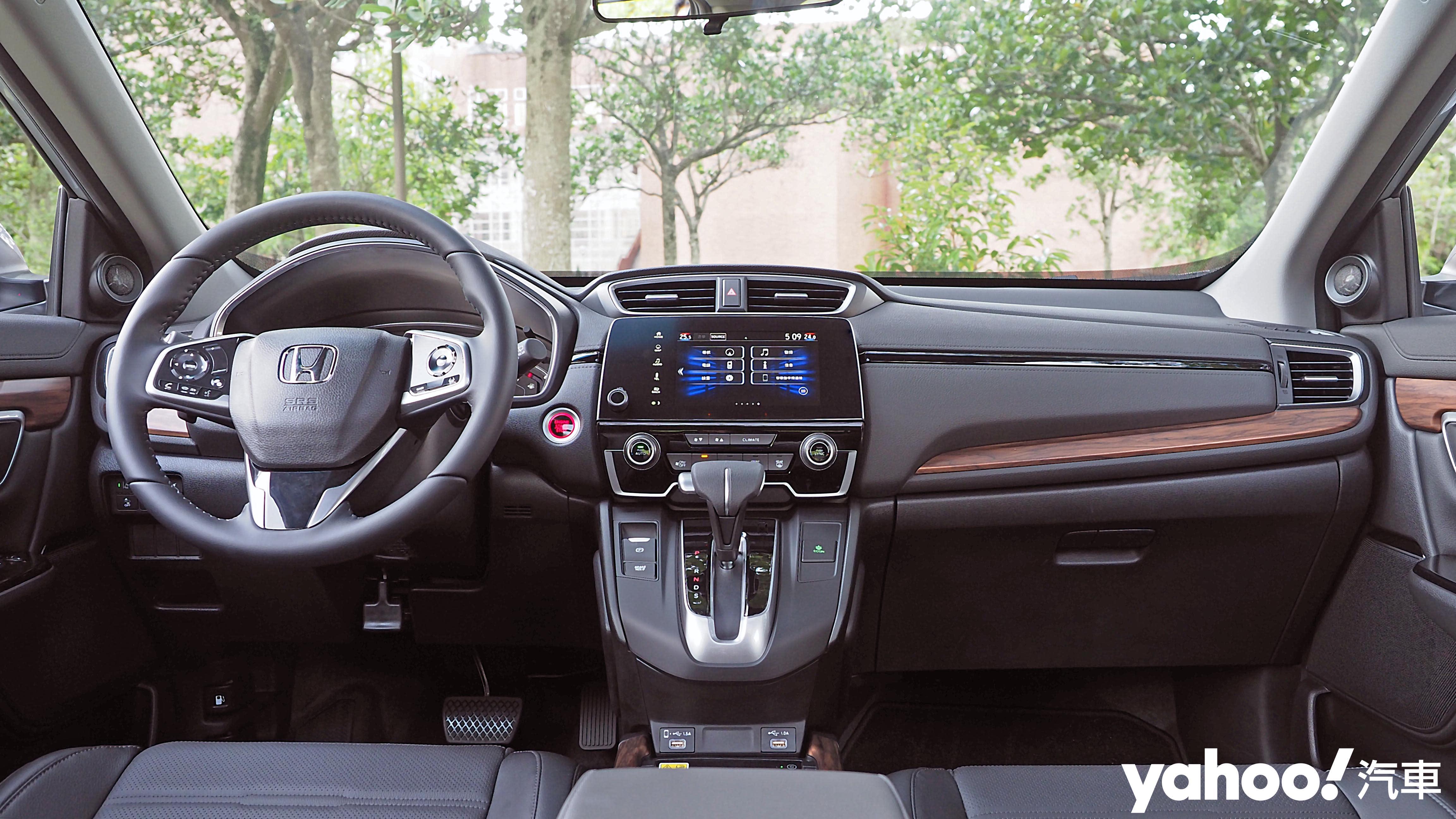 機能美學實用化!2021年式Honda CR-V 1.5S小改款南投試駕! - 8