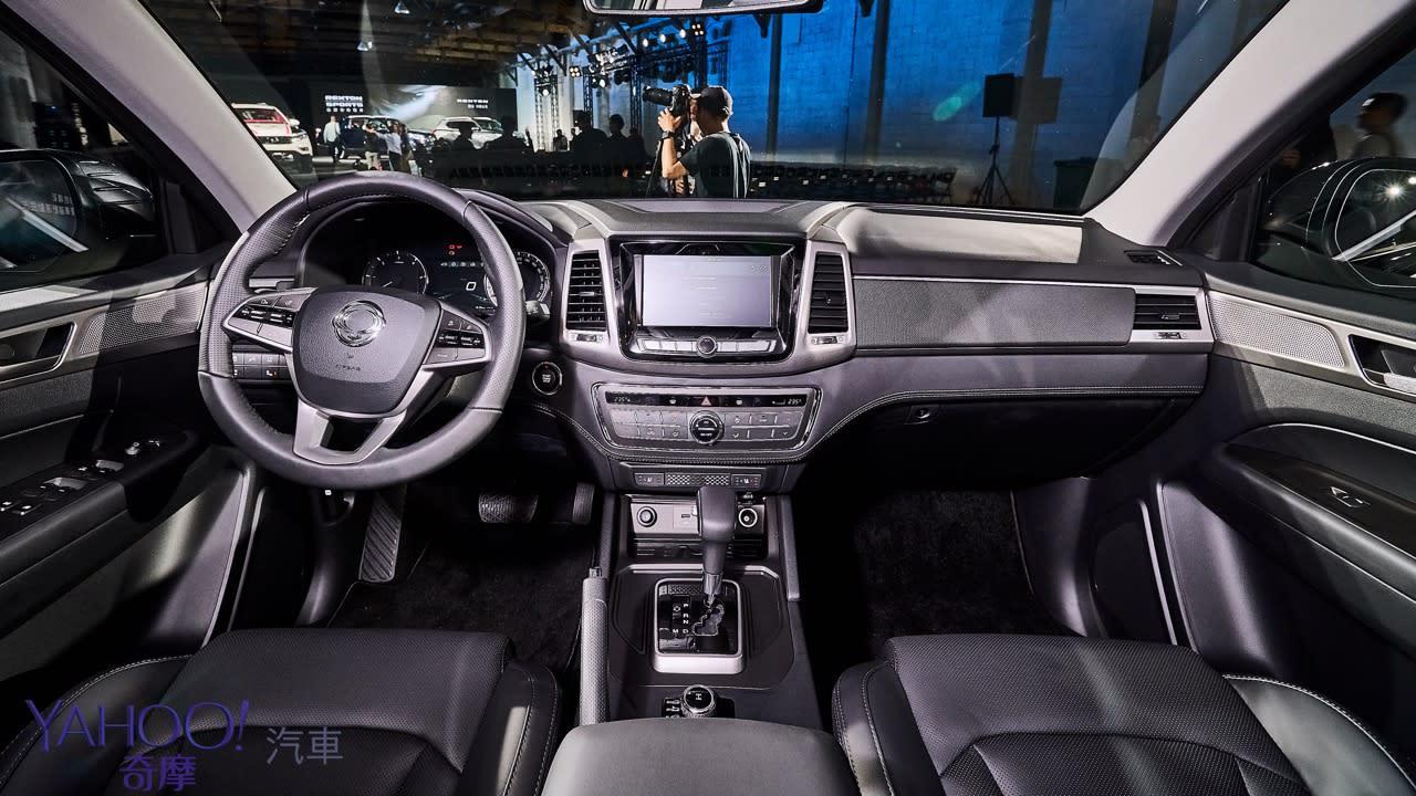 越野韓風激烈襲來!SsangYong雙龍汽車豪華7人SUV Rexton、PickUp Rexton Sports正式發表! - 18