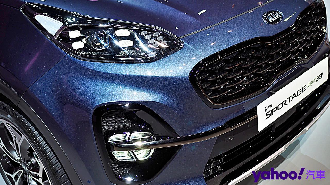 來台5週年鉅獻!2020 Kia Sportage小改款正式上市!