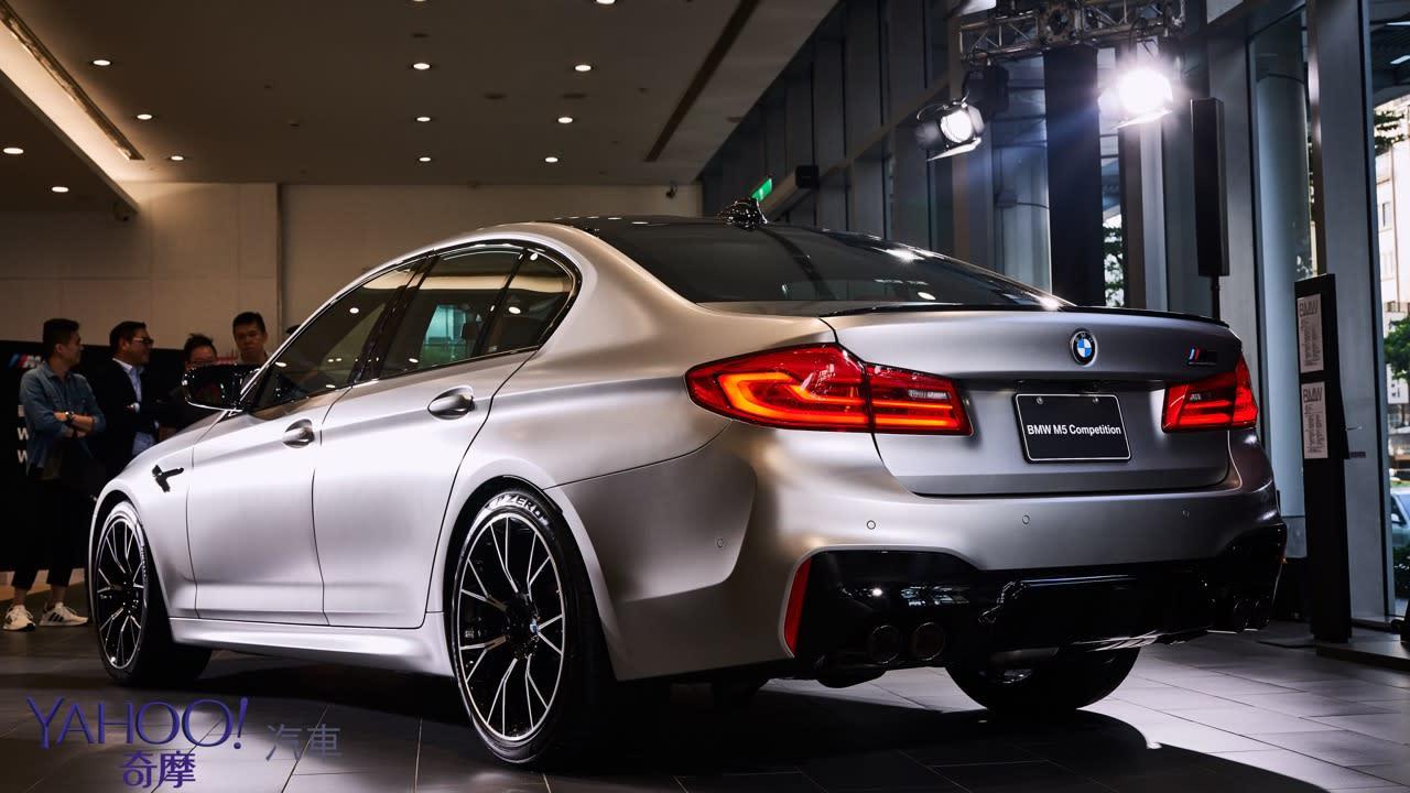因強大而經典!BMW M5 Competition低調登台暨最後限量M3CS/M4CS展演 - 5