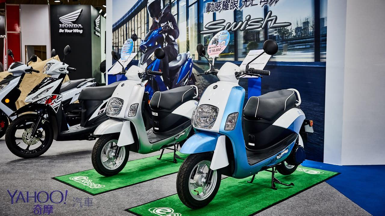 【2019國際重型機車展】復活的名刀!Suzuki Katana正式發表暨Burgman 200上市 - 15