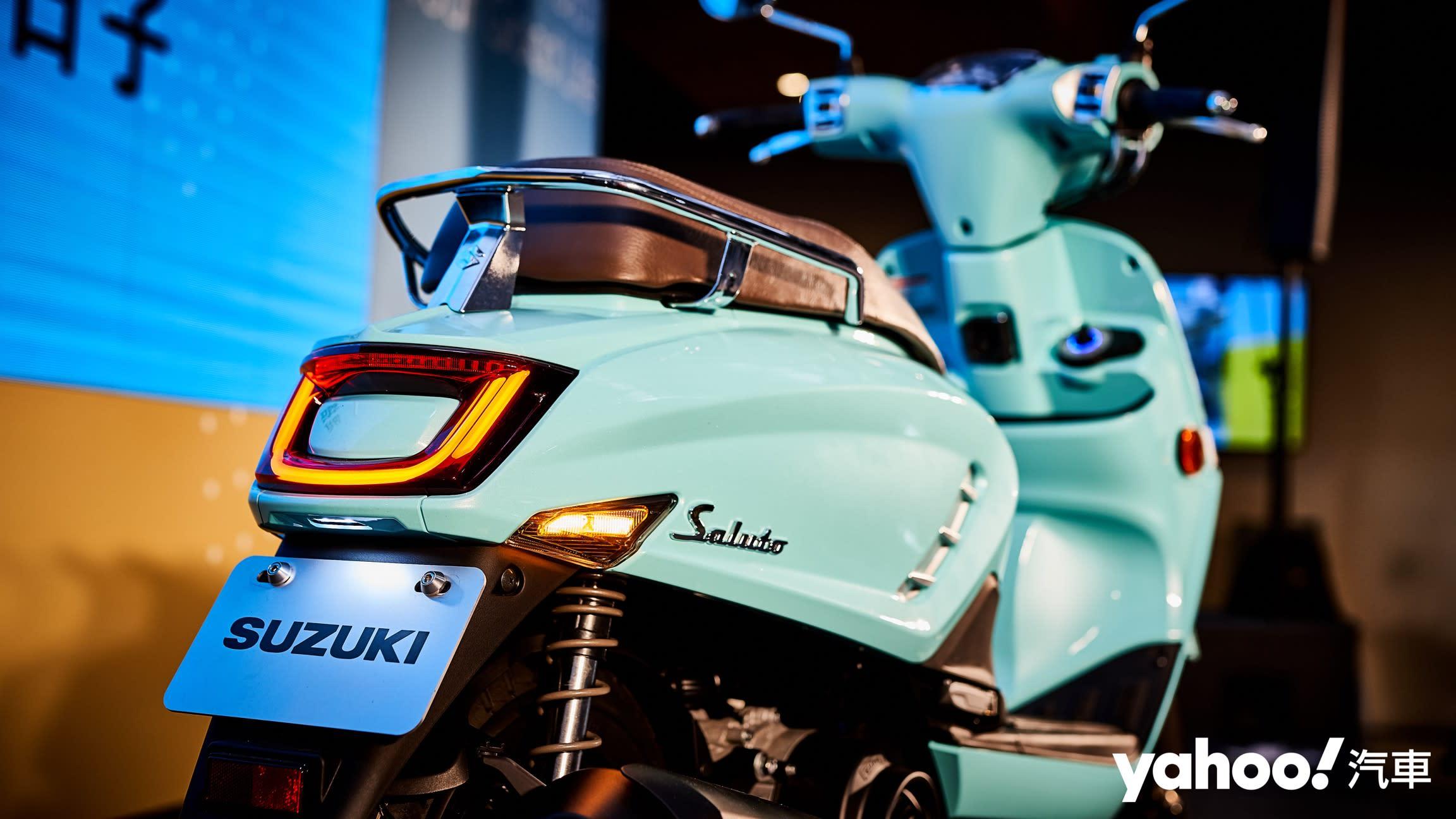 義式大和魂蹦出科技新滋味!2020 Suzuki Saluto 125正式發表! - 4