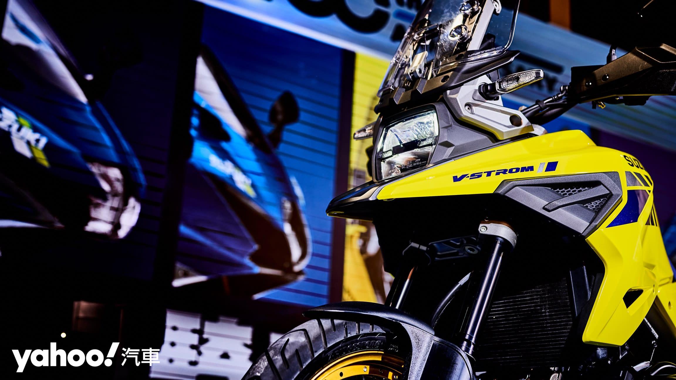 海盜徜徉怪鳥飛!Suzuki 100週年慶V-Strom 1050 XT & GSX-150 Bandit抵台上陣!