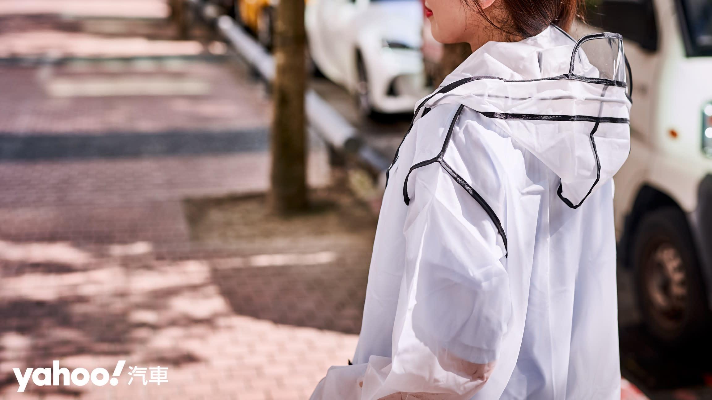 下雨天更要穿出品味!4款潮流系雨衣風格開箱! - 4
