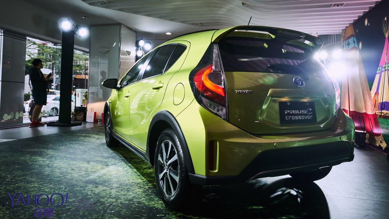 大車能跨、小車更要跨一下! Prius C Crossover跨界車型81.9萬正式上市! - 4
