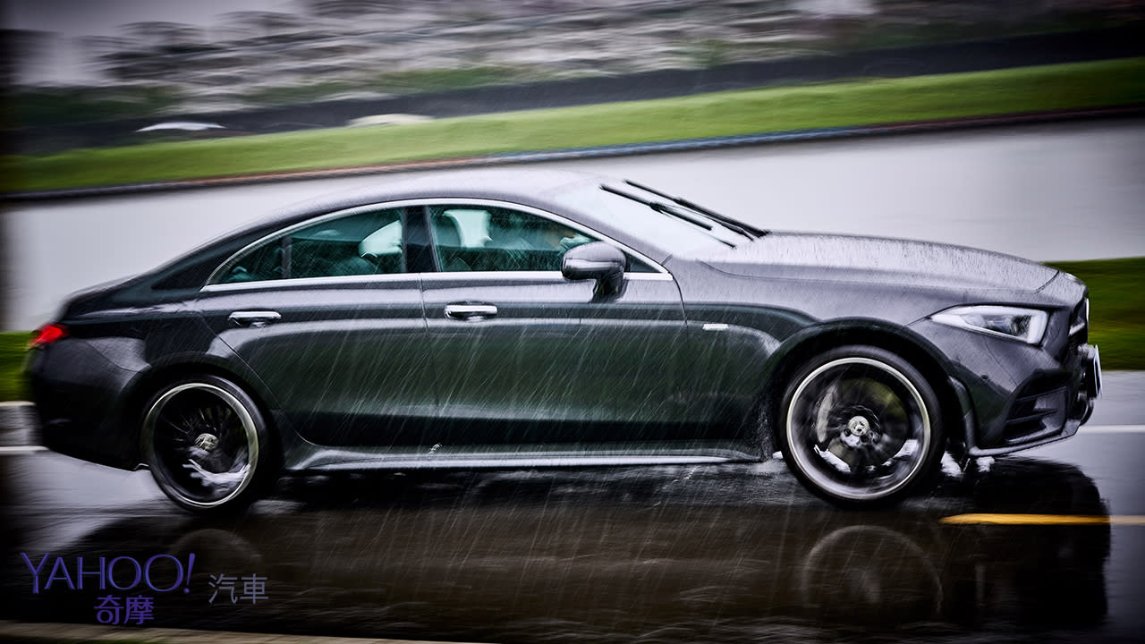 壁壘分明的駕馭戀曲!Mercedes-Benz CLS 350雨天試駕 - 3