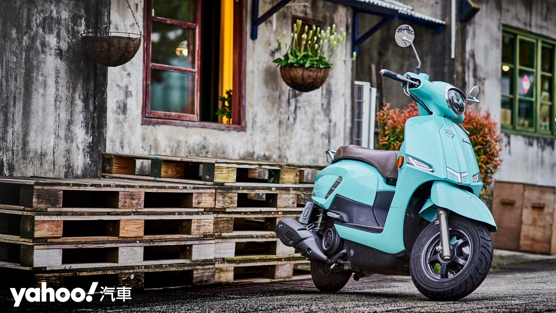 追求絕對的唯美系風格!2020 Suzuki Saluto復古風試駕評測! - 3