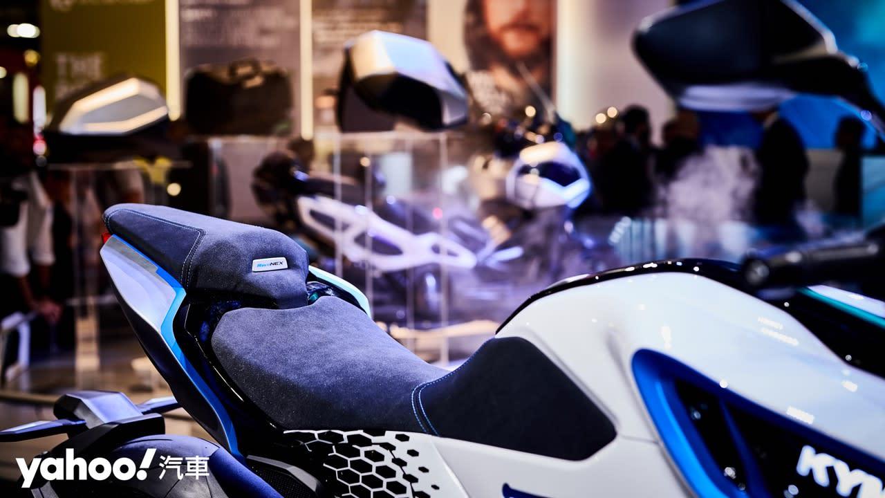 更接近量產的電動火力展示!Kymco全新大型重型電動概念車RevoNEX正式發表! - 10