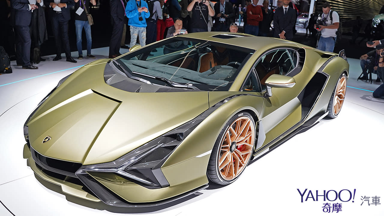 【2019法蘭克福車展】限量63部的終極一閃!Lamborghini Sián榮登油電王者之座 - 2