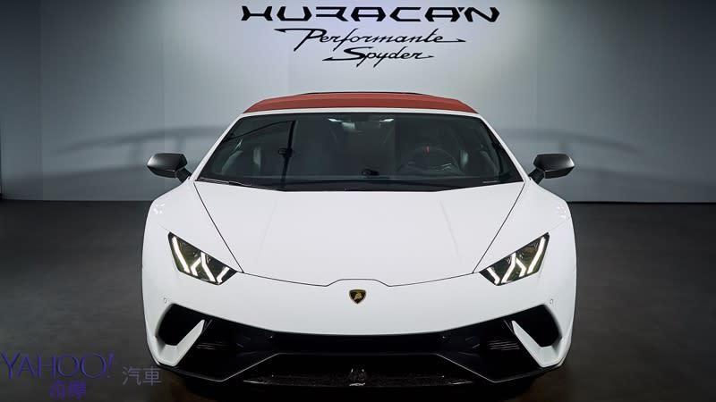 在感性間打開唯美的一扇窗 敞篷小牛Lamborghini Huracán Performante Spyder正式抵台 - 2