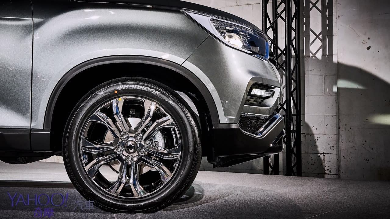 越野韓風激烈襲來!SsangYong雙龍汽車豪華7人SUV Rexton、PickUp Rexton Sports正式發表! - 5
