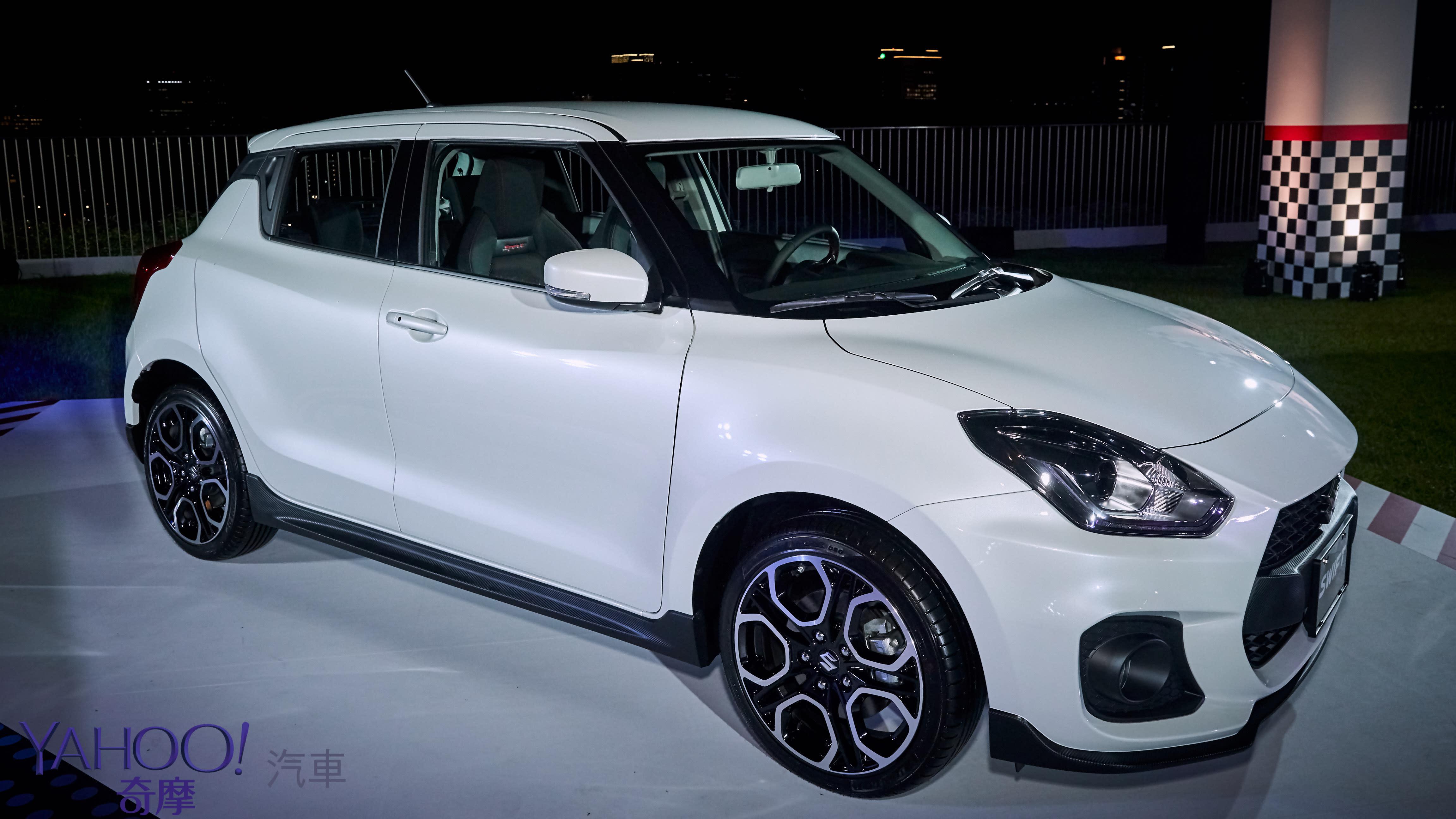 80.8萬入手最純粹的競技微鋼砲!Suzuki Swift Sport宣告正式發表! - 2