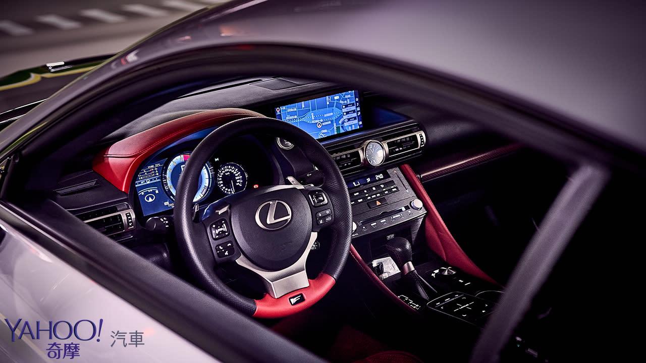 MIB的飆速武器!2019 Lexus RC F Track Edition試駕 - 8