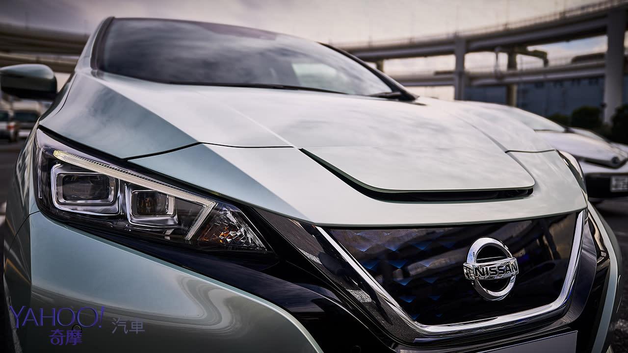定義未來的電動化選擇!2019 Nissan Leaf 40kWh-G東京試駕 - 5