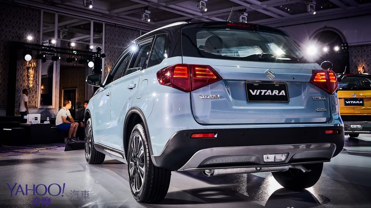 更安全的內外兼修!全新Suzuki第4代小改款Vitara正式上市77萬起! - 1
