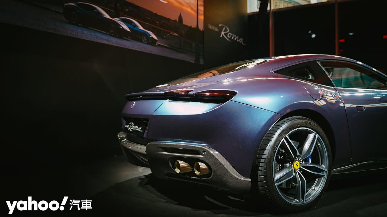 以永恆之城為名、披著晚禮服的F1賽車!2021 Ferrari Roma雋永登場!